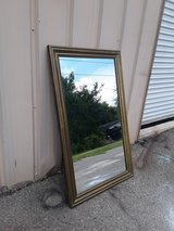 Antique Brass Mirror Large in Beaufort, South Carolina
