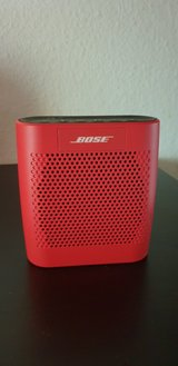 Bose Color Sound Link Bluetooth speaker RED like NEW in Ramstein, Germany