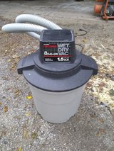 8 gallon Craftsman shop vac in Morris, Illinois