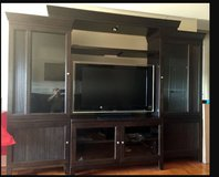 Oak Furniture Entertainment Cabinet in Beaufort, South Carolina