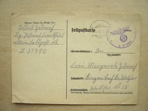 WWII German Booklet for Insurance Payments in Stuttgart, GE