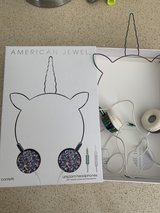 Unicorn Headphones - Wire Frame Headset with Volume Control and Microphone - confetti  by ... in Chicago, Illinois