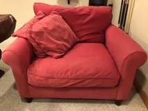Red Couch (chair and a half) in Bolingbrook, Illinois