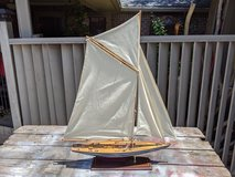 Sail Boat, Wood Model in Kingwood, Texas