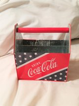Coca Cola Decor Utensil Toothbrush Pen Pencil Holder Organizer Handle Soda Drink Bar Grill in Kingwood, Texas