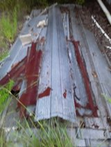 Used Roofing Tin in Leesville, Louisiana