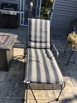 outdoor lounge chair in Naperville, Illinois