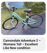 "TALL 26"" Cannondale Women's Bike in Aurora, Illinois"