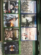 PS4 and XBOX1 games in Grafenwoehr, GE
