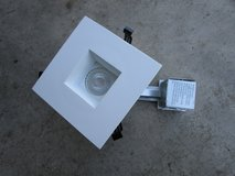 "Lithonia Lighting 4"" Recessed Square White LED Gimbal kit in Joliet, Illinois"