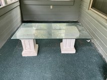 Glass Coffee Table pick up today in Fort Polk, Louisiana