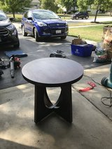 Table. Round side table in Joliet, Illinois