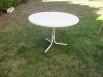 white round patio table in Ramstein, Germany