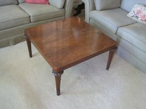 """Vintage Rosewood Finished 30"""" square Cocktail/Coffee Table in Plainfield, Illinois"""