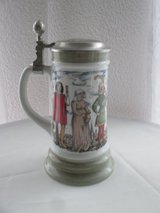 beautiful stein with lid in Ramstein, Germany