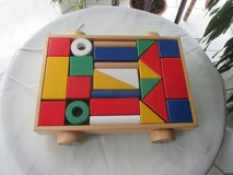 wooden shapes + colors (learning toy) in Ramstein, Germany