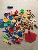 100 piece play food and dishes in Naperville, Illinois