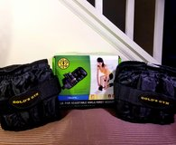 GOLD'S GYM 5 LB. Pair Adjustable Ankle Wrist Weights in Joliet, Illinois