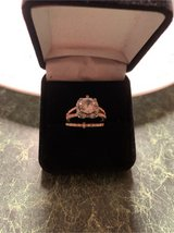 Rose gold wedding set in Fort Campbell, Kentucky
