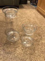 Glass candle holders in Sugar Grove, Illinois