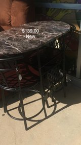 Black Table and Chairs (New) in Fort Leonard Wood, Missouri