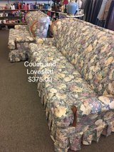 Couch and Loveseat Set in Fort Leonard Wood, Missouri
