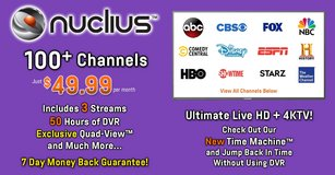 Nuclius USA IPTV in Ansbach, Germany
