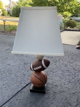 Lamp (Sports themed) in Oswego, Illinois