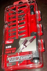 TOOL SHOP LED Precision Knife Set ( Brand New) in Naperville, Illinois