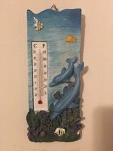 NEW Dolphins Wall Hanging Indoor/Outdoor Thermometer in Camp Lejeune, North Carolina