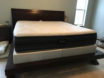 King size sleigh bed frame and bedroom set (American size) in Stuttgart, GE