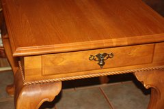 Queen Anne Side Table With Drawer in Alamogordo, New Mexico