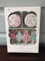 NEW IN BOX Cupcake Kit for Girls - I'm a Princess (24 Liners & Toppers) in Naperville, Illinois