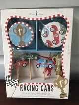 NEW IN BOX Cupcake Kit for Boys - Racing Cars (24 Liners & Toppers) in Naperville, Illinois