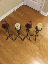 Wrought Iron Floor Candle Holders in Cherry Point, North Carolina