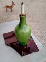 tall ceramic lamp w/ speaker & unknown innards? in Yucca Valley, California
