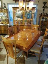 Mid Century Italian dining table and available hutch in Fort Leonard Wood, Missouri