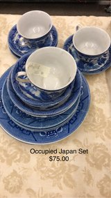Blue Dishes - Occupied Japan (All) in Fort Leonard Wood, Missouri