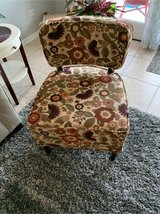 gorgeous floral chair in Bartlett, Illinois