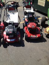 Torro Self propelled mowers starting at 170.00 and Up in Orland Park, Illinois