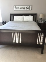 california kind bed frame and mattress in Camp Pendleton, California