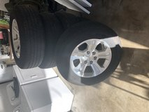 Set of tires off Chevy Silverado LT in Fort Campbell, Kentucky