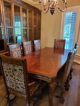 Gallery Furniture Solid Cherry Formal Dining Set in Cleveland, Texas