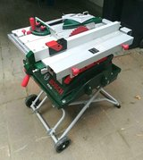 Bosch PTS10 Table Saw with matching Cart PTA 2000 in Ramstein, Germany