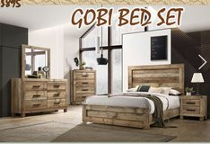 United Furniture -Full Size  Gobi Bed Set complete with (Basic) Mattress + Box Frame and deliver... in Stuttgart, GE