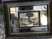 Art picture mirror in Spangdahlem, Germany