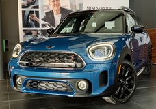 2021 Mini Countryman S All4 Military sales promotion in Wiesbaden, GE