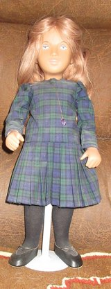KILTIE Light Red Hair SASHA DOLL Limited Edition- Amethyst Necklace ! Very Rare in Alamogordo, New Mexico