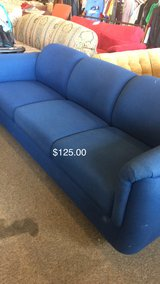 Blue Office Couch in Fort Leonard Wood, Missouri