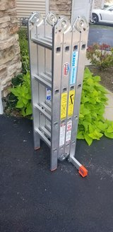 16 FT LADDER TYPE 1A MULTIMATIC KRAUSE in Glendale Heights, Illinois
